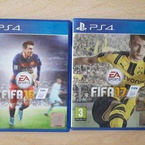 FIFA 17 E FIFA 16
