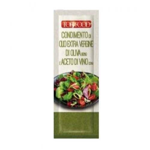 Condimento di olio extravergine di oliva e aceto di vino monodose (15 ml)