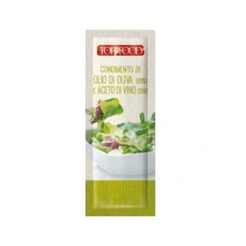 Condimento di olio di oliva e aceto di vino monodose (15 ml)
