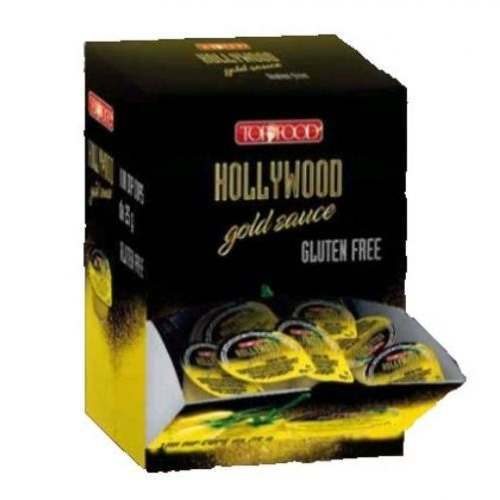 Hollywood gold sauce box dispenser (100 pz)