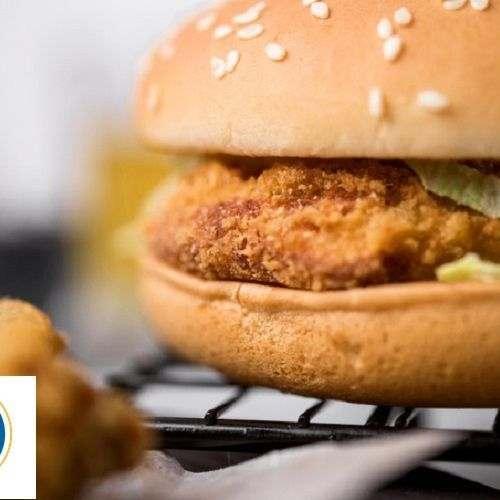Hamburger con Sesamo Pretagliato