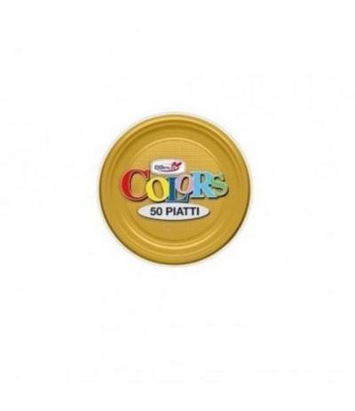 piattini dopla oro- 50 pezzi