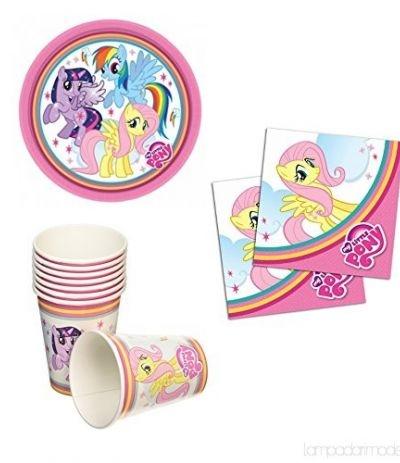 piatti piccoli my little pony- 8 pezzi