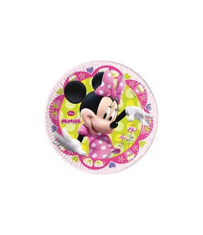 "Piatti Piccoli Minnie ""Happy Helpers"" - 8 Pz"