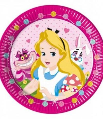 Piatti grandi Alice- 8 pezzi