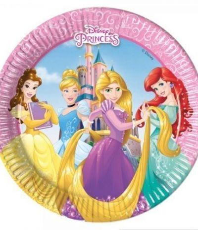 Piatti Piccoli Principesse Disney - 8 Pezzi