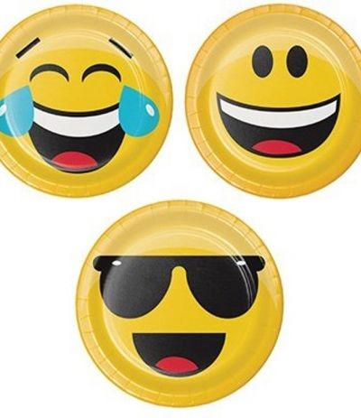 piattini smile- 8 pezzi