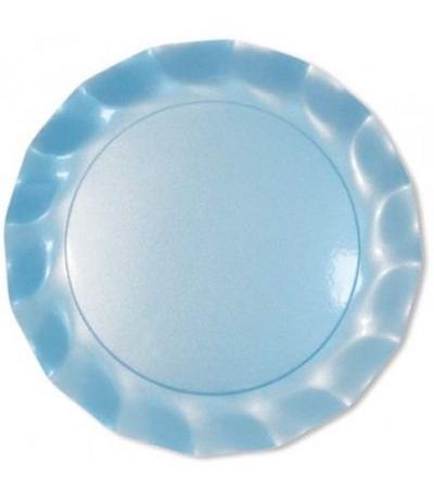 piatti azzurri perla cm 32.4- 5 pezzi