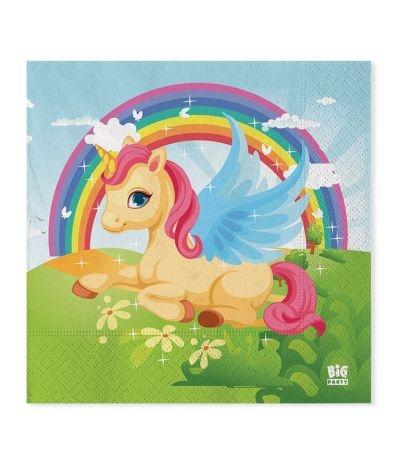 Tovaglioli Unicorno- 20 pezzi