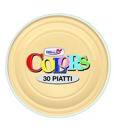 piatti piani dopla crema- 30 pezzi