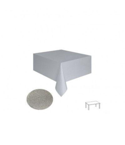 tovaglia tnt argento- 140 x 240 cm