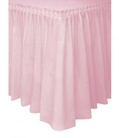 tovaglia  gonnellina rosa