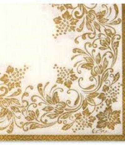 tovaglioli oro noblesse- 20 pezzi
