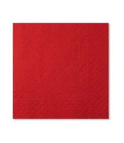 tovaglioli rossi extra- 20 pezzi