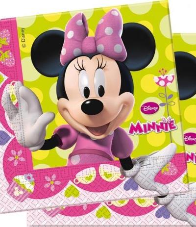 """Tovaglioli di carta Minnie """"Happy Helpers"""" - 20 Pz"""