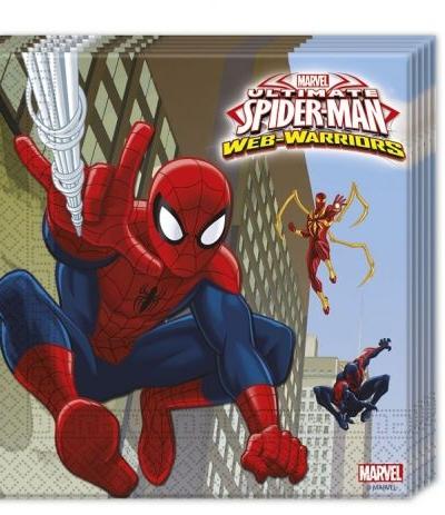Tovaglioli spiderman- 20 pezzi