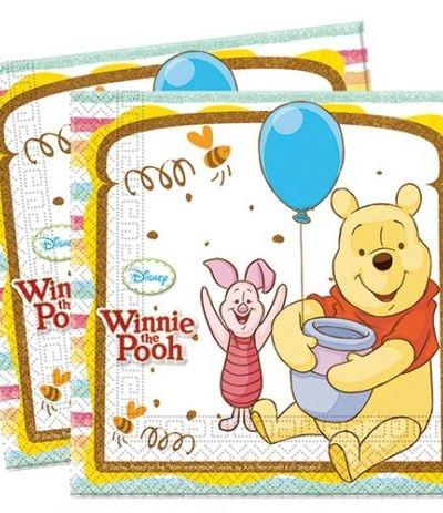 Tovaglioli Winnie The Pooh - 20 Pezzi