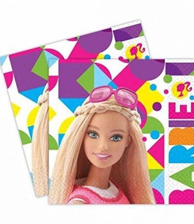 Tovaglioli Barbie - 20 Pezzi