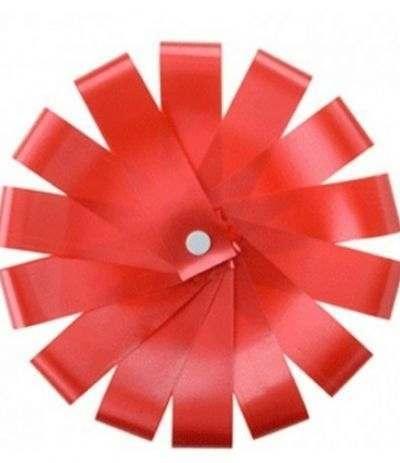 nastro coccarda modecor rossa