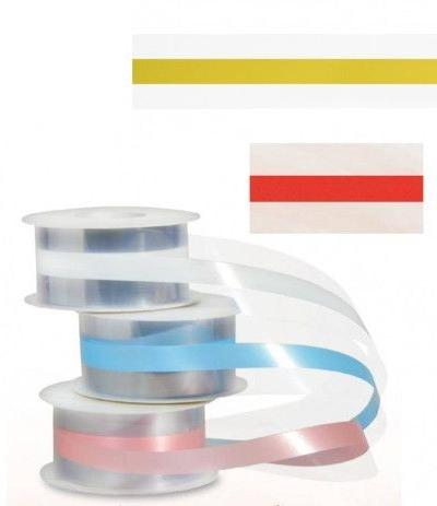 nastro girotorta acetato giallo 1 mt