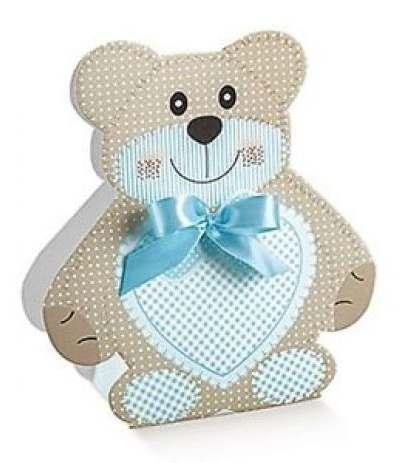 scatola orsetto celeste