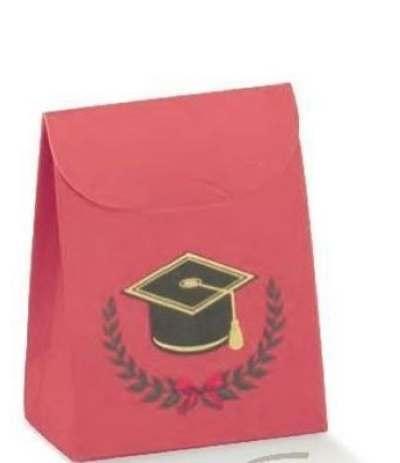 scatoletta rossa laurea
