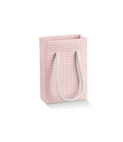 buste cartone fiorellini rosa- 15 pezzi