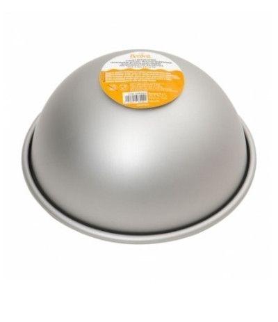 mezza sfera in alluminio anodizz-20cm