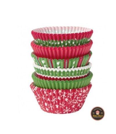 Wilton Christmas Cupcake Cases, Confezione da 150