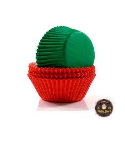 pirottini muffin verdi e rossi 75