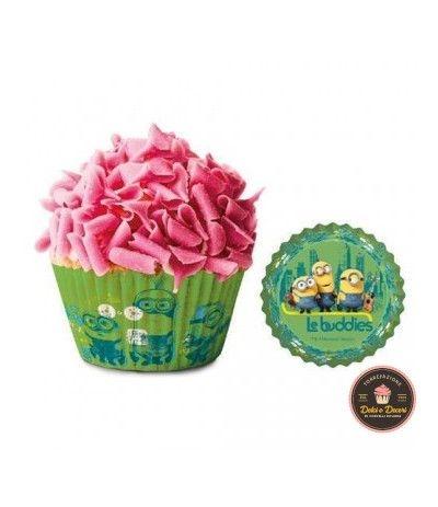 Pirottini Muffin Minions - 50 Pezzi