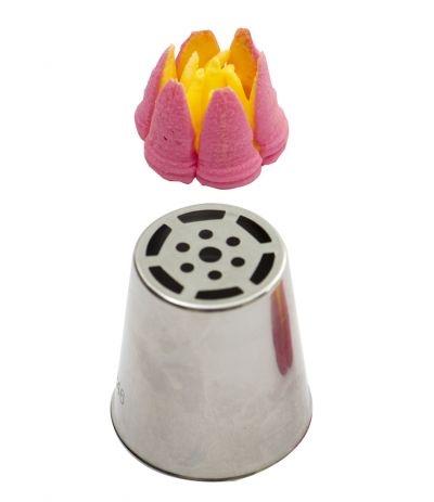 beccuccio russo tulipano delicato a 6 petali decora