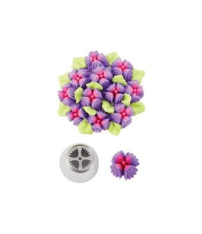 beccuccio russo fiore con 4 petali decora 28