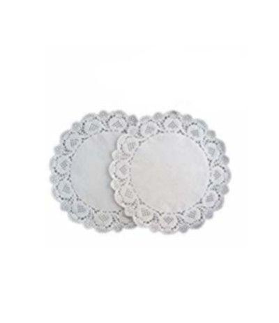 centrini argento- 40 pezzi, 10 cm