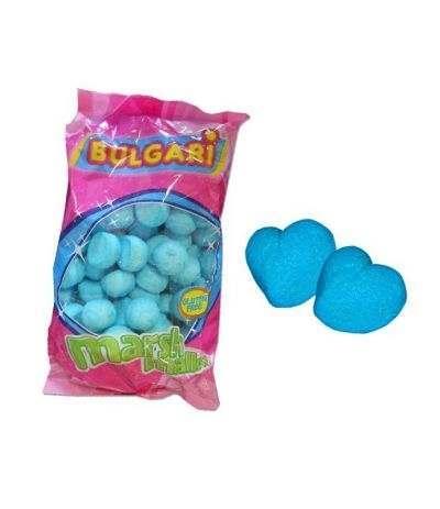 marshmallow cuore azzurro bulgari