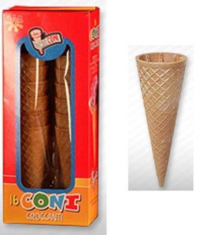 coni croccanti per gelato pz12