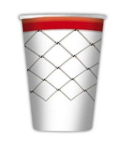 bicchieri basket- 8 pezzi
