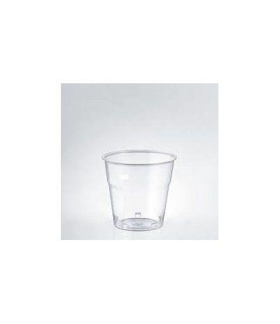 bicchierini trasparenti dopla- 50 pezzi