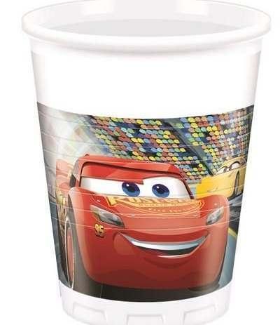 Bicchieri Cars - 8 Pezzi