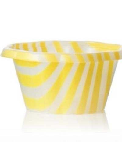 coppette per gelato gialle- 10 pezzi