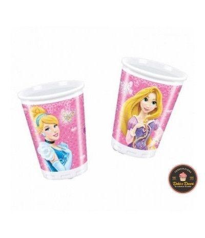 Bicchieri Principesse- 8 Pezzi