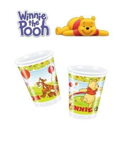 Bicchieri Personaggi Winnie The Pooh - 8 Pezzi
