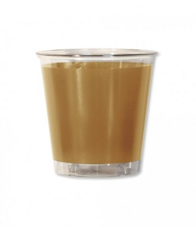bicchieri trasparenti oro- 10 pezzi