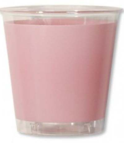 bicchieri trasparenti rosa- 10 pezzi