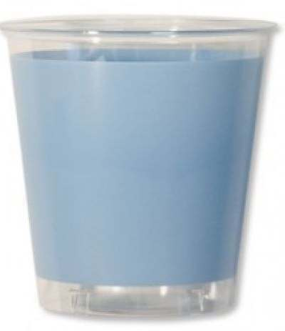 bicchieri trasparenti azzurri- 10 pezzi