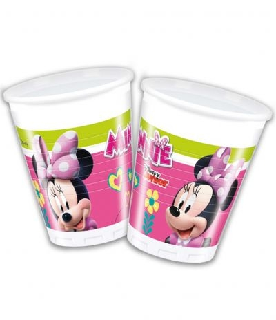 "Bicchieri Minnie ""happy Helpers"" - 8 Pz"