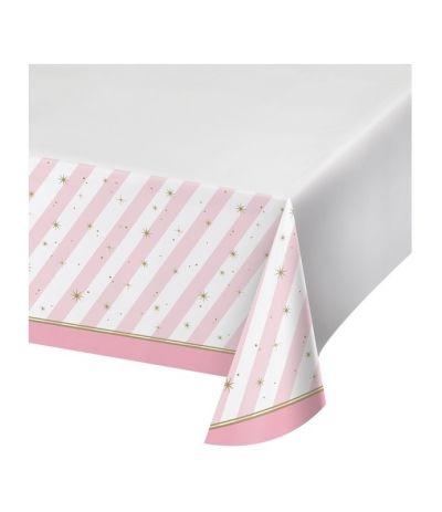 Tovaglia ballerina rosa- 259 x 137 cm