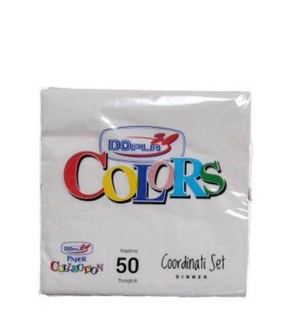tovaglioli piccoli bianchi- 100 pezzi