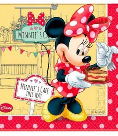 Tovaglioli di carta Minnie cafè - 20 Pz