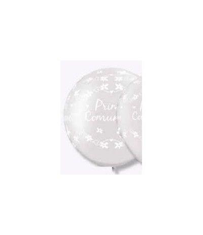 mongolfiera bianca prima comunione- 90 cm